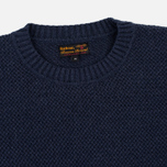 Мужской свитер Barbour Heritage Bearsden Crew Neck Navy Marl фото- 1