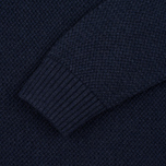 Мужской свитер Barbour Heritage Bearsden Crew Neck Navy Marl фото- 2
