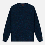 Мужской свитер Barbour Heritage Netherby Crew Neck Blue фото- 0