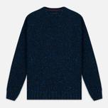 Мужской свитер Barbour Heritage Netherby Crew Neck Blue фото- 0