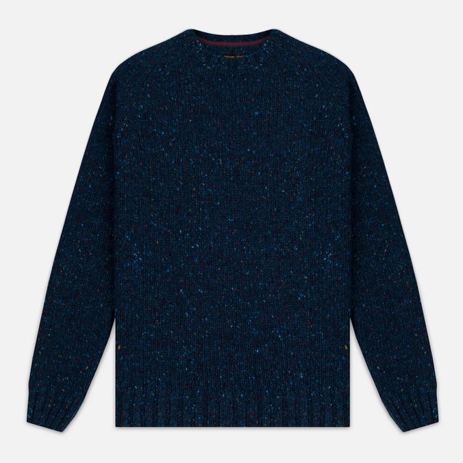 Мужской свитер Barbour Heritage Netherby Crew Neck Blue
