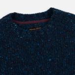 Мужской свитер Barbour Heritage Netherby Crew Neck Blue фото- 1