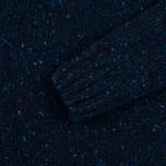 Мужской свитер Barbour Heritage Netherby Crew Neck Blue фото- 2