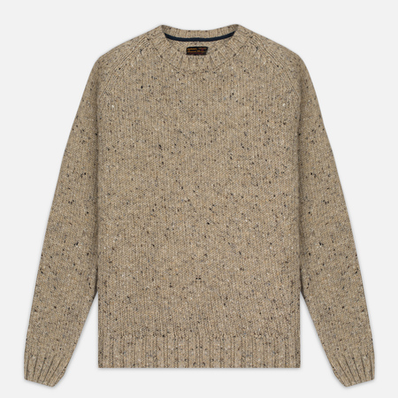 Barbour Heritage Netherby Crew Neck Men's Sweater Fog