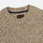 Barbour Heritage Netherby Crew Neck Men's Sweater Fog photo- 1