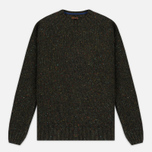Мужской свитер Barbour Heritage Netherby Crew Neck Forest фото- 0