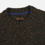 Мужской свитер Barbour Heritage Netherby Crew Neck Forest фото- 1