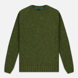 Barbour Heritage Netherby Crew Neck Men's Sweater Green photo- 0