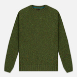 Мужской свитер Barbour Heritage Netherby Crew Neck Green фото- 0