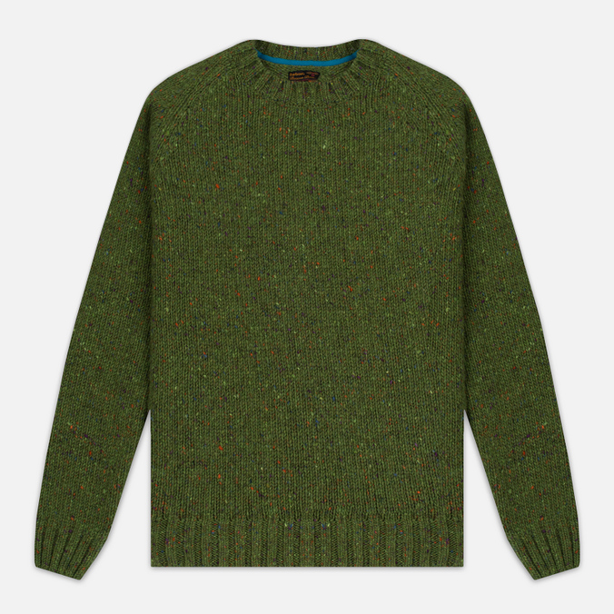 Мужской свитер Barbour Heritage Netherby Crew Neck Green
