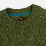 Мужской свитер Barbour Heritage Netherby Crew Neck Green фото- 1