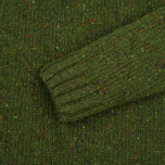 Barbour Heritage Netherby Crew Neck Men's Sweater Green photo- 2