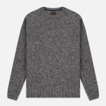Barbour Heritage Netherby Crew Neck Men's Sweater Grey photo- 0