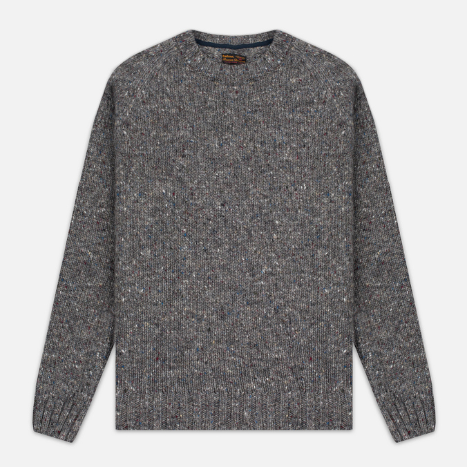 Мужской свитер Barbour Heritage Netherby Crew Neck Grey