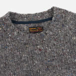 Barbour Heritage Netherby Crew Neck Men's Sweater Grey photo- 1