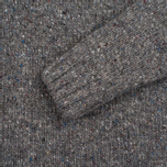 Barbour Heritage Netherby Crew Neck Men's Sweater Grey photo- 2