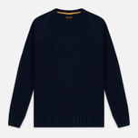 Мужской свитер Barbour Heritage Netherby Crew Neck Navy фото- 0