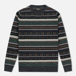 Мужской свитер Barbour Orford Fair Isle Crew Charcoal фото- 0