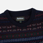 Мужской свитер Barbour Orford Fair Isle Crew Navy фото- 1