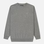 Мужской свитер Barbour Pima Cotton Crew Neck Grey фото- 0