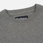 Мужской свитер Barbour Pima Cotton Crew Neck Grey фото- 1