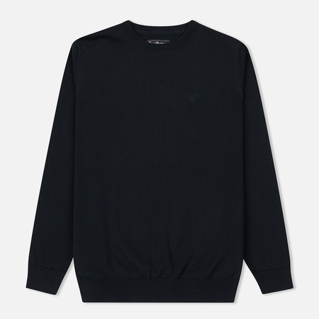 Мужской свитер Barbour Pima Cotton Crew Neck Navy