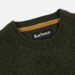 Мужской свитер Barbour Tisbury Crew Forest фото- 1