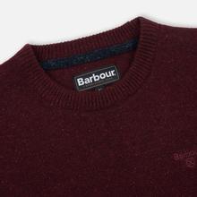 Мужской свитер Barbour Tisbury Crew Ruby фото- 1