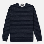 Мужской свитер Barbour Tyde Crew Neck Navy фото- 0