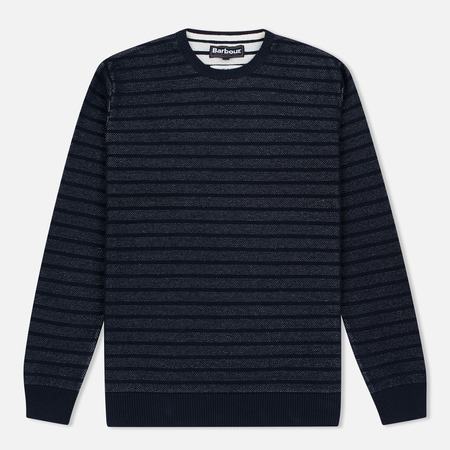 Barbour Tyde Men's Sweater Crew Neck Navy