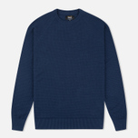 Мужской свитер Barbour x Land Rover Chaser Crew Neck Navy фото- 0