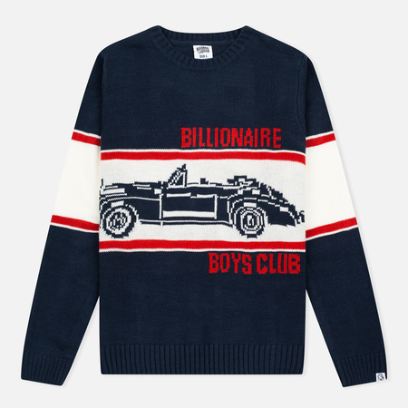 Мужской свитер Billionaire Boys Club Car Crew Neck Navy/White