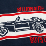 Мужской свитер Billionaire Boys Club Car Crew Neck Navy/White фото- 2