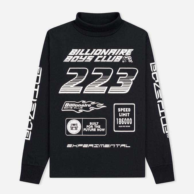 Мужской лонгслив Billionaire Boys Club Multi Logo Black