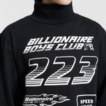 Мужской лонгслив Billionaire Boys Club Multi Logo Black фото- 3