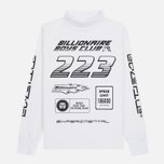 Мужской лонгслив Billionaire Boys Club Multi Logo White фото- 0