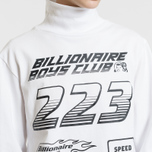 Мужской лонгслив Billionaire Boys Club Multi Logo White фото- 4