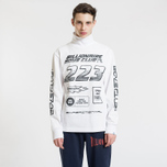 Мужской лонгслив Billionaire Boys Club Multi Logo White фото- 1