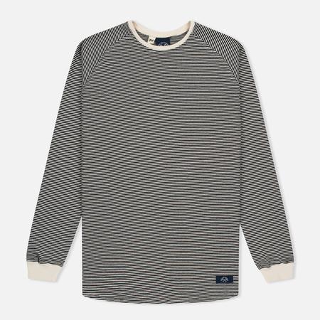 Bleu De Paname Mariniere Men's Sweatshirt Black