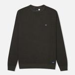Bleu De Paname Tricot Nid D'Abeille Men's Sweater Anthracite photo- 0