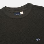 Bleu De Paname Tricot Nid D'Abeille Men's Sweater Anthracite photo- 1