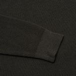 Bleu De Paname Tricot Nid D'Abeille Men's Sweater Anthracite photo- 4