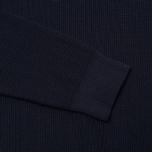 Мужской свитер Bleu De Paname Tricot Nid D'Abeille Marine фото- 5