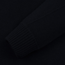 Мужской свитер C.P. Company Crew Neck Lens Pocket Black фото- 2