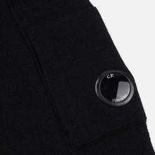 Мужской свитер C.P. Company Crew Neck Lens Pocket Black фото- 3