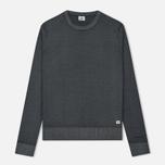 Мужской свитер C.P. Company Merino Garment Dyed Crew Neck Dark Fog Grey фото- 0