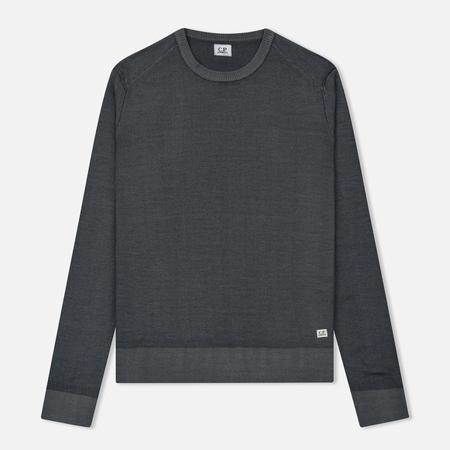 Мужской свитер C.P. Company Merino Garment Dyed Crew Neck Dark Fog Grey