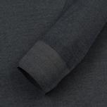 Мужской свитер C.P. Company Merino Garment Dyed Crew Neck Dark Fog Grey фото- 2