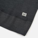 Мужской свитер C.P. Company Merino Garment Dyed Crew Neck Dark Fog Grey фото- 3