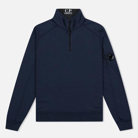 C.P. Company Vest Neck Fleece Lens Pocket Men's Sweater Navy